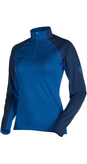 Mammut Illiniza sweater Dames blauw